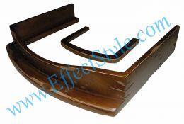 деревянный ободок для камина