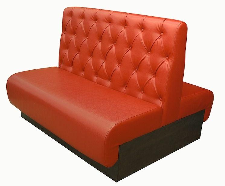 Мягкий диван двойной для кафе