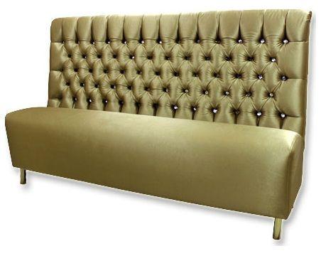 Клубный диванчик (гламурный)