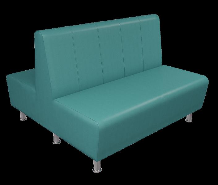 Двойной диванчик для кафе