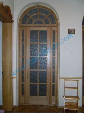большие деревянные двери