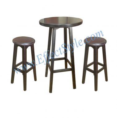 Набор барный высокий барный стол и табуреты барные ScottishStyle