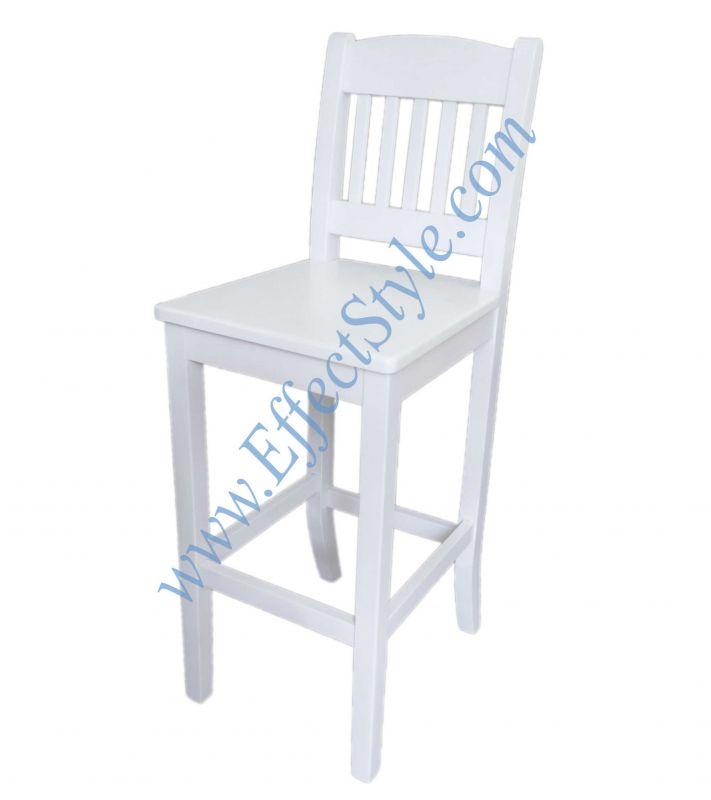 Барный стул белый Киев